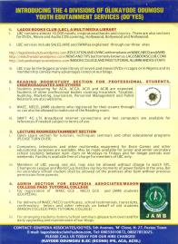 SERVICES BEING OFFERED BY EDUPEDIA ASSOCIATES/OO'YES OUR PARENT ORGANISATION 2