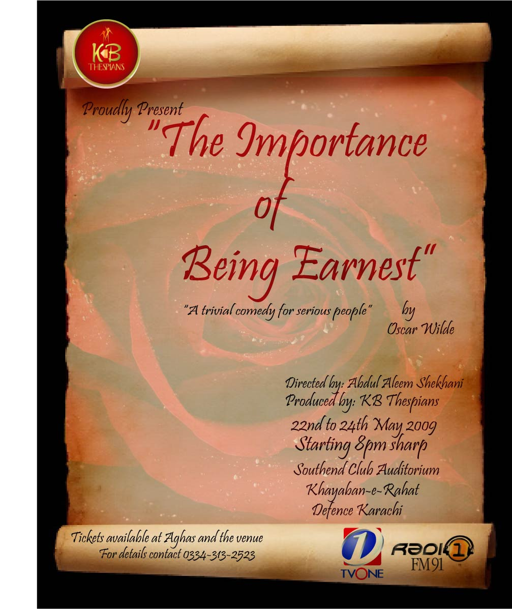 introduction to the importance of being earnest by oscar wilde importance being earnest