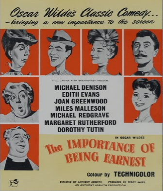 the importance of being earnest literary analysis