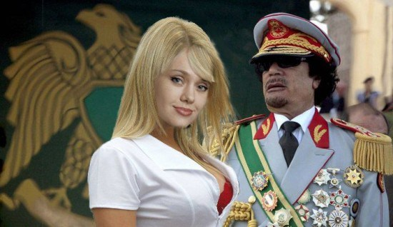 BOOK REVIEW...GADDAFI'S HAREM:THE STORY OF A YOUNG WOMAN AND THE ABUSES OF POWER IN LIBYA BY ANNICK COJEAN...PLUS SLIDESHOW OF GADDAFI'S BUNGA BUNGA!