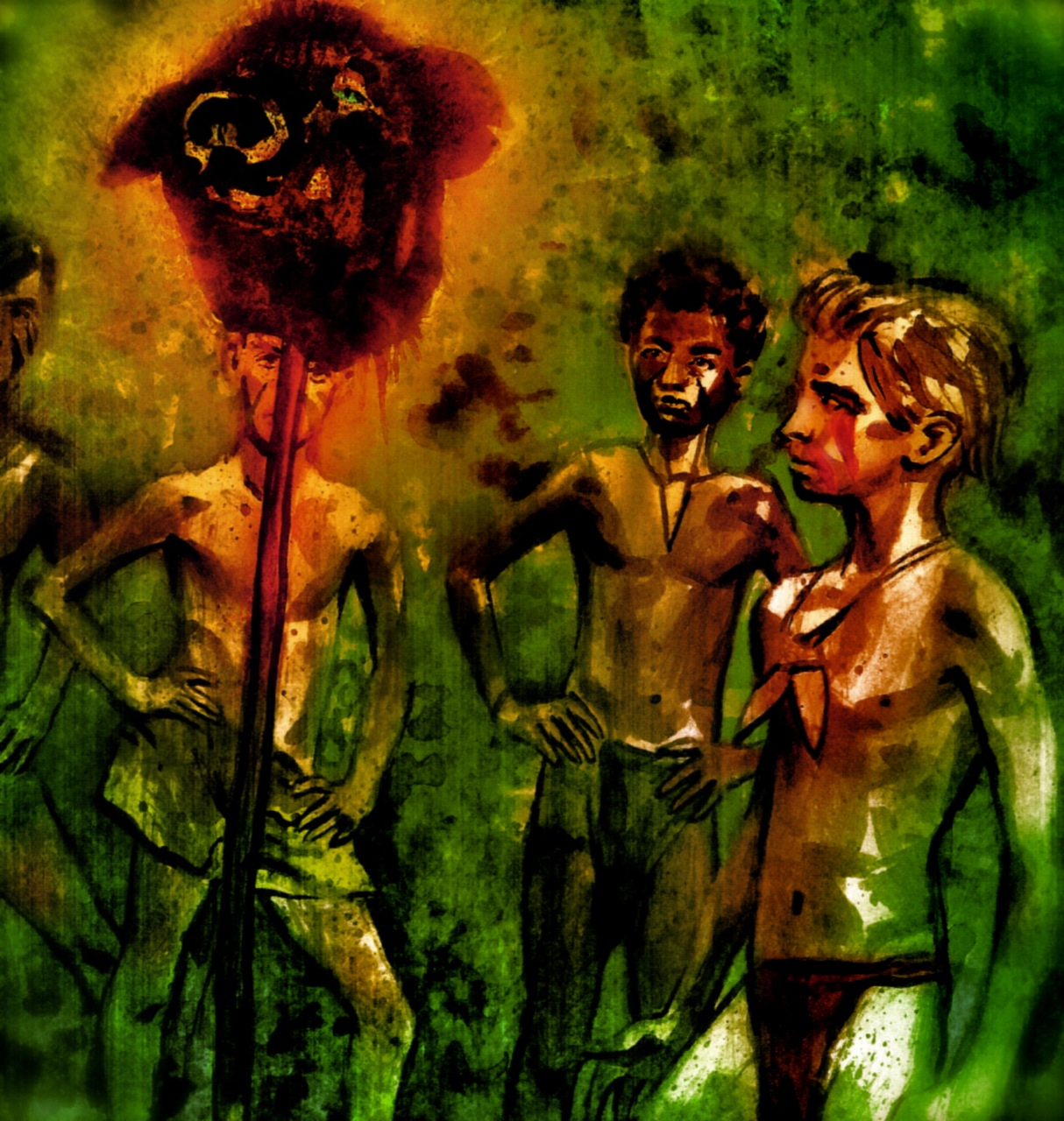 lord of the flies descent into savagery essay  lord of the flies themes gradesaver