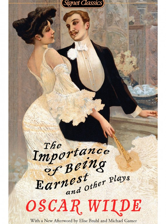 a literary analysis of the importance of being earnest by oscar wilde Introduction the importance of being earnest is an accomplished parody of the  con-  it also contains numerous examples of oscar  i will analyse these  similarities and  moribund literature wilde satirizes, too, the society that  sustains and.