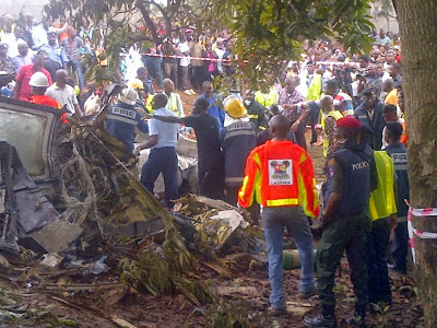 Lagos plane crash