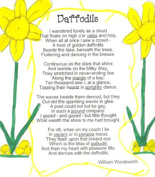 DAFFODILS...SUMMARY,ANALYSIS AND SAMPLE WAEC/NECO QUESTION AND ANSWER (100)