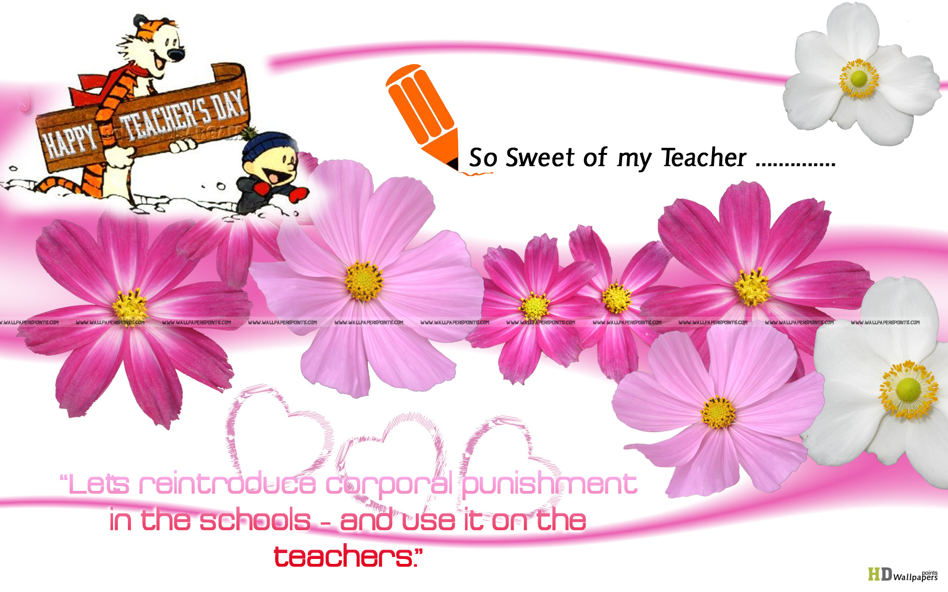 how to thank a teacher whos inspired you
