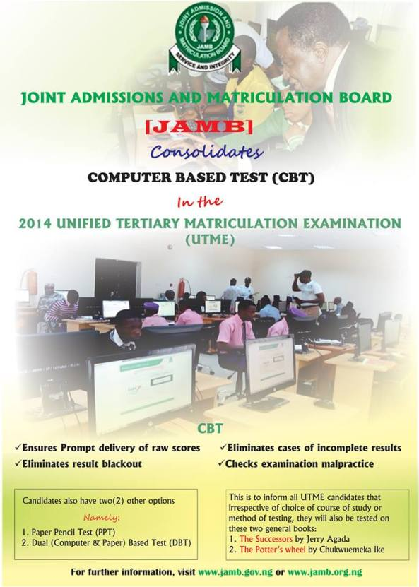 JAMB 2014-2015 EXAMINATION SYLLABUS-USE OF ENGLISH