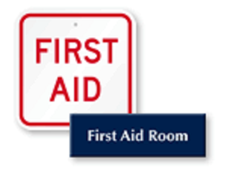 ENSURE YOUR CHILD'S SCHOOL HAS A CLINIC (OR AT LEAST A ROOM FOR FIRST AID!)