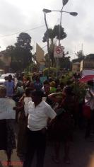 NOTES/REACTIONS ABOUT YESTERDAY'S POST-UTME PROTEST AT UNILAG