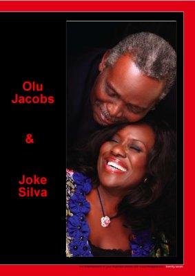 WHY MY WIFE BEARS JOKE SILVA IN MOVIES...OLU JACOBS