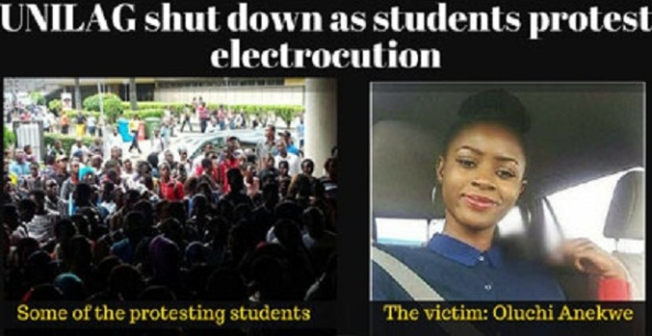 FEMALE STUDENT ELECTROCUTED AT UNILAG YESTERDAY WAS A POTENTIAL FIRST CLASS GRADUATE!
