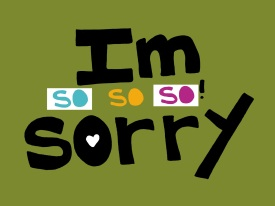 GLAD TO SAY I'M SORRY...A POEM BY KAYODE ODUMOSU