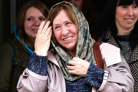 SVETLANA ALEXIEVICH QUOTES WITH PICTURES