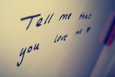 TELL ME THAT YOU LOVE ME...POEM ADAPTED BY KAYODE ODUMOSU