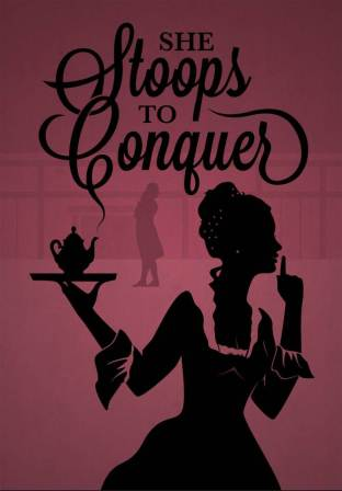 SHE STOOPS TO CONQUER-SHORT INTROS AND ENTIRE PLAY IN ONE PAGE FOR YOUR PHONE DOWNLOAD!