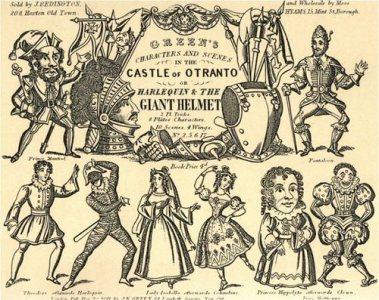 THE CASTLE OF OTRANTO SUMMARIZED AS COMICS (1)