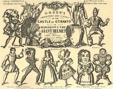 THE CASTLE OF OTRANTO ...GOTHIC LITERATURE CONTEXT AND DISTINCTIONS