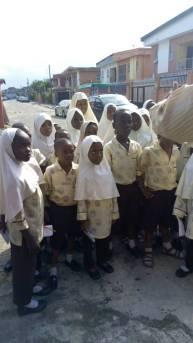 VISIT BY STUDENTS OF TUKUR INTERNATIONAL SCHOOL,6TH AVENUE, FESTAC TOWN, LAGOS
