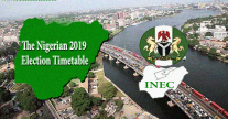 The Nigerian 2019 Election Timetable
